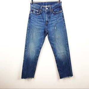 LEVI'S | High Rise Distressed Jeans